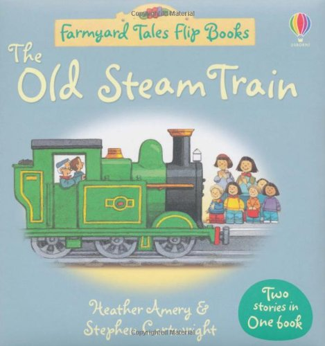 The Old Steam Train/Market Day Flip Book