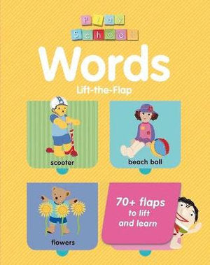 PLAY SCHOOL LIFT-THE-FLAP WORDS