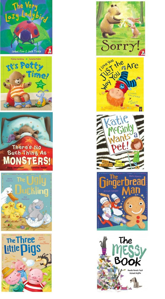 LITTLE TIGER STORYBOOK COLLECTION - 10 BOOK PACK