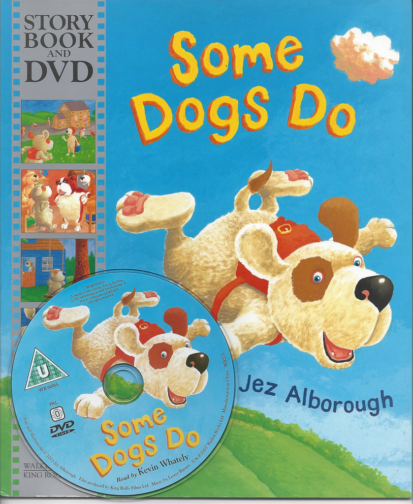SOME DOGS DO STORYBOOK & DVD - JEZ ALBOROUGH