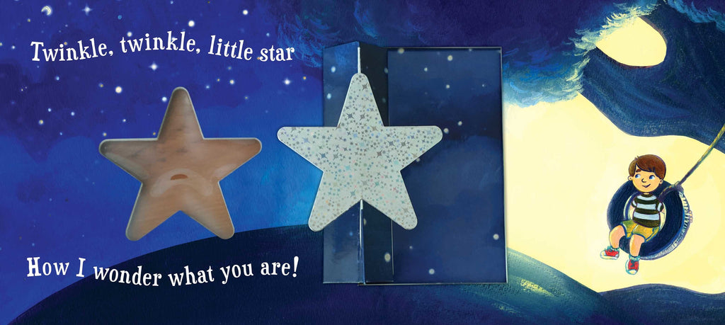TWINKLE TWINKLE LITTLE STAR - A SPINNING POP-UP BOOK