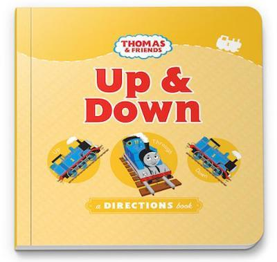 THOMAS & FRIENDS UP & DOWN  - A DIRECTIONS BOOK