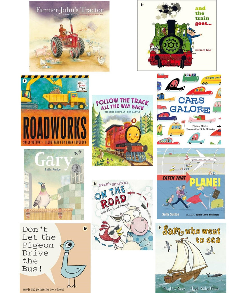 ZOOM, ZOOM, ZOOM! 10 STORYBOOK PACK OF THINGS THAT GO!