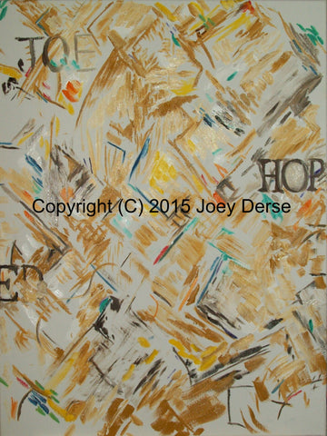 Limited edition Giclee of Joey Derse's Joe Hope
