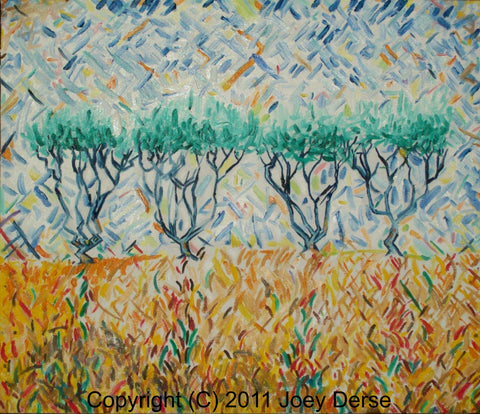 Limited edition Giclee of Joey Derse's Orchard #2
