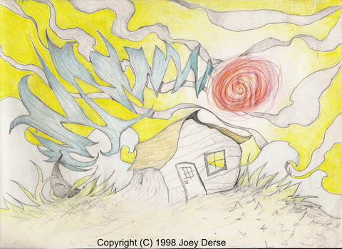 Limited edition Giclee of Joey Derse's Cutting Wind