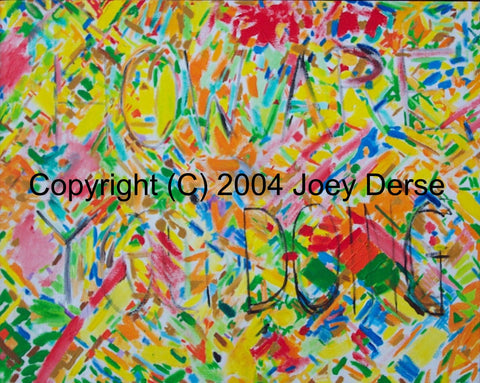 Limited edition Giclee of Joey Derse's How's It Going?