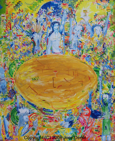 Limited edition Giclee of Joey Derse's The Bhagavad Gita to Me