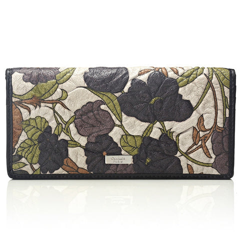 Deckas Paris Ladies Wallet - Dark Floral