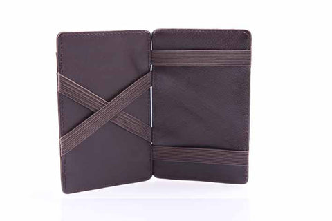 Brown Leather Magic Wallet