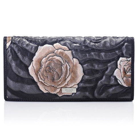 Deckas Paris Ladies Wallet - Gold Floral