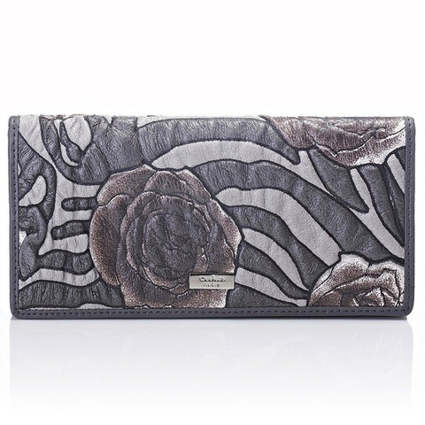 Deckas Paris Ladies Wallet - Grey
