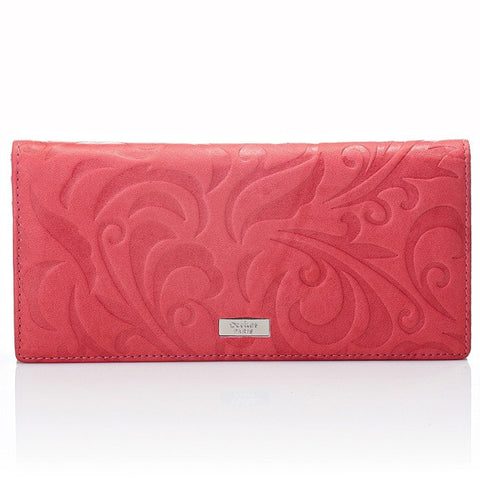 Deckas Paris Ladies Wallet - Coral Pink