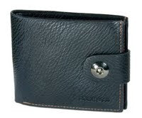 Roberta Ropela Black Leather Wallet