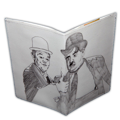Travel Wallet - Collaboration - Laurel & Hardy