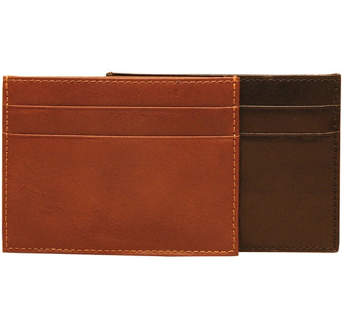 Ultimo Weekend Wallet with I.D. Window (Cognac)