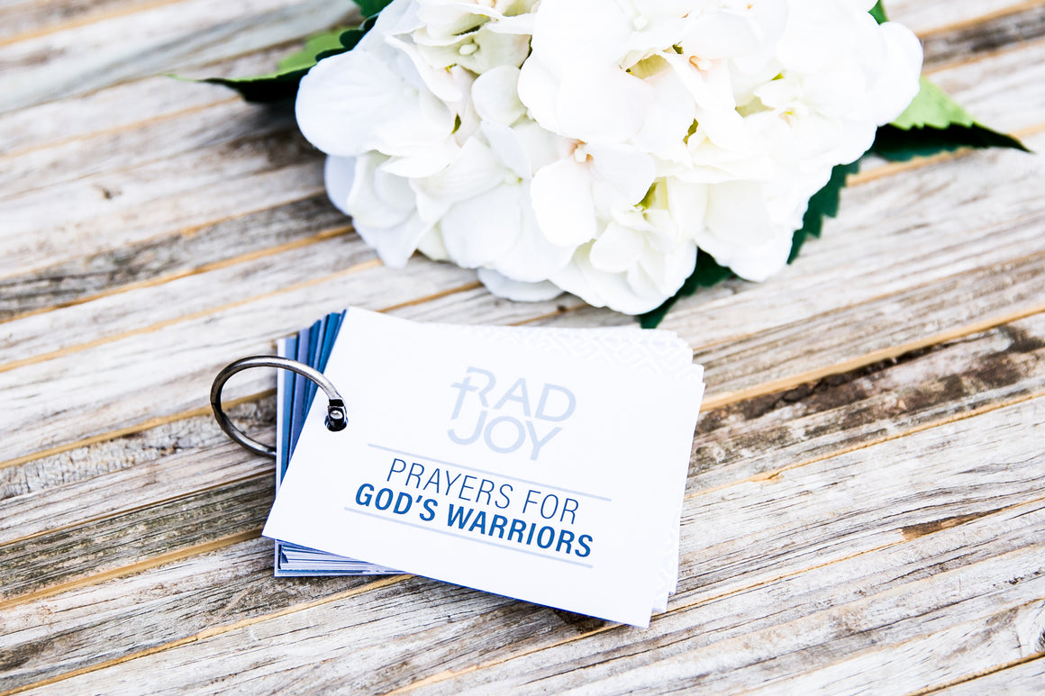 Prayer Cards for God's Warriors (Adults)