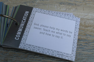 Prayer Cards for God's Little Warriors in Training (Younger Kids)