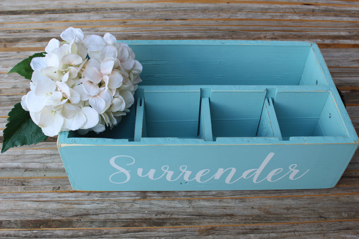 RAD Box  — Turquoise SURRENDER