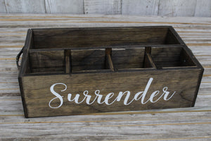 RAD Box  — Dark Walnut SURRENDER