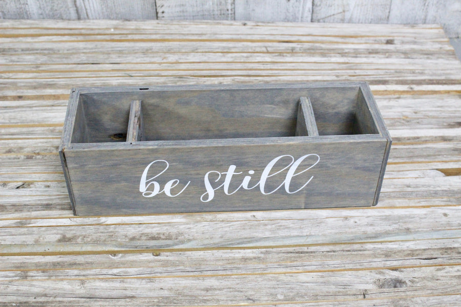 'Lil RAD Box  — Weathered BE STILL