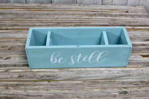 'Lil RAD Box  — Turquoise BE STILL