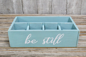 RAD Box  — Turquoise BE STILL