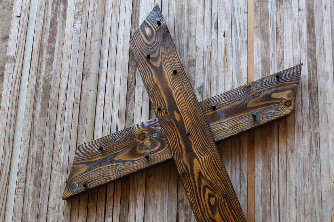 Limited — Dark Walnut Classic 3 ft Cross