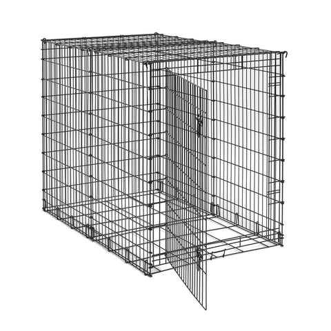 "Midwest Big Dog Crate Black 54"" x 35"" x 45"" - Johnny's Pet Supply"