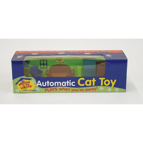 "CatDancer Mouse in the House Cat Toy 17.5"" x 5.5"" x 5"" - Johnny's Pet Supply"