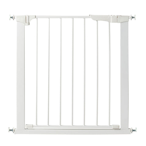 "Kidco Auto Close Gateway Pressure Mounted Pet Gate White 29"" - 37"" x 29.5"" - Johnny's Pet Supply"