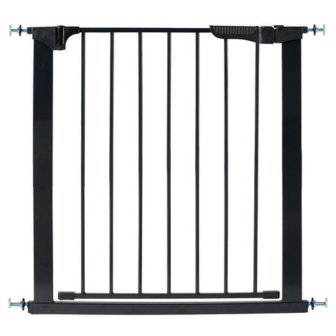 "Kidco Auto Close Gateway Pressure Mounted Pet Gate Black 29"" - 37"" x 29.5"" - Johnny's Pet Supply"