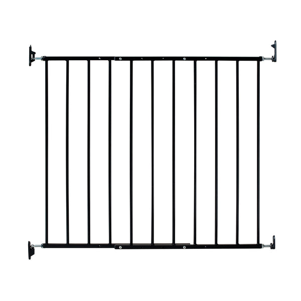"Kidco Safeway Wall Mounted Pet Gate Black 24.75"" - 43.5"" x 30.5"""