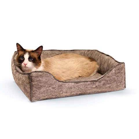 "K&H Pet Products Amazin' Kitty Lounge Sleeper Gray 13"" x 17"" x 3"" - Johnny's Pet Supply"