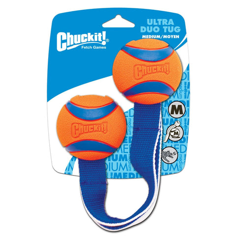 Chuckit Ultra Duo Tug Dog Toy - Johnny's Pet Supply