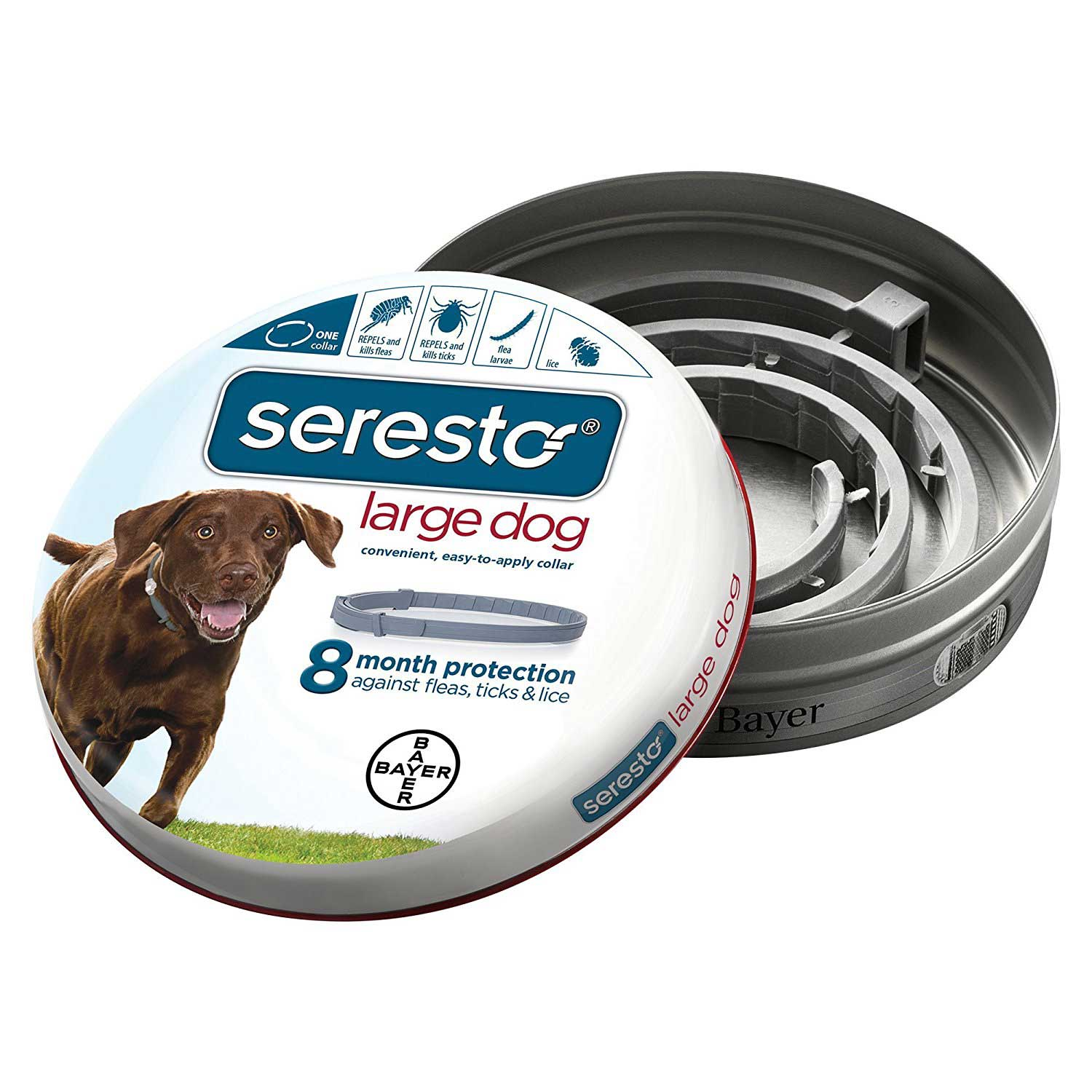 Seresto Flea and Tick Collar for Dogs - Johnny's Pet Supply