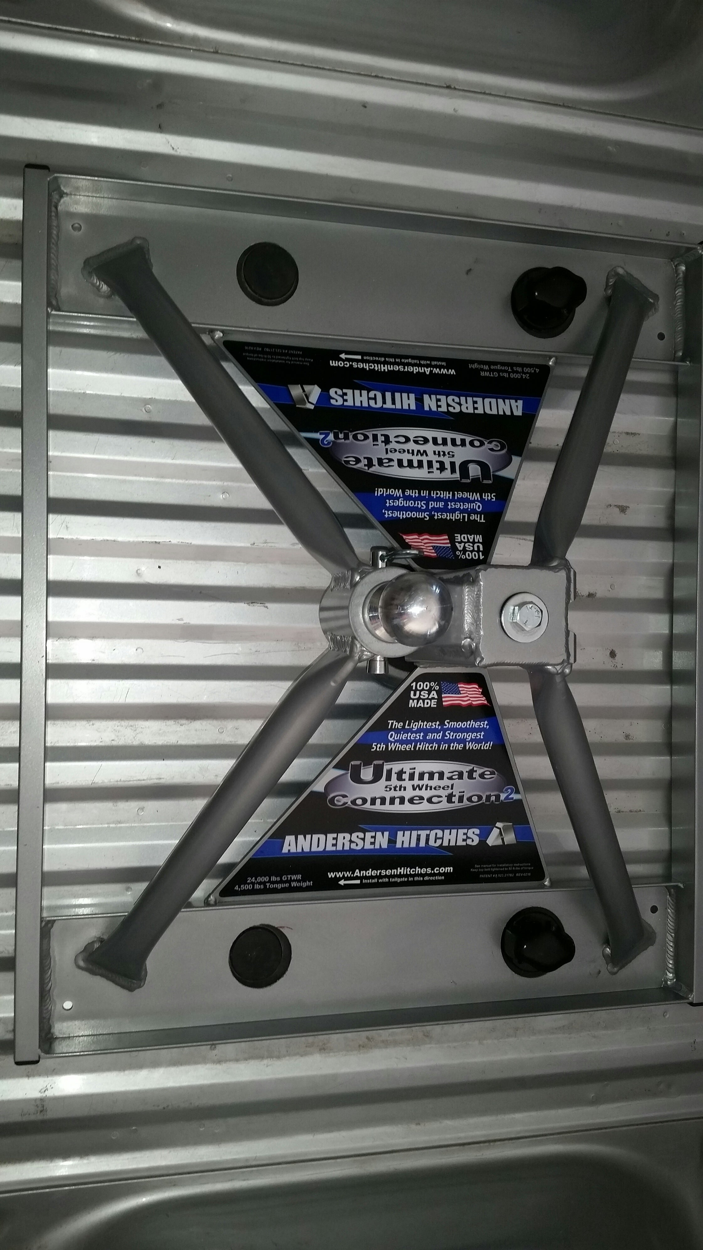 Ultimate 5th Wheel Connection Gooseneck Mount Aluminum ly