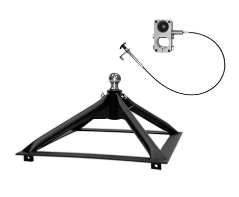 Ultimate 5th Wheel Connection (Rail Mount) - Steel, Only 40 lbs!