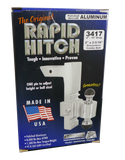 "Rapid Hitch Aluminum Adjustable Trailer Hitch - 2-1/2"" Shank"