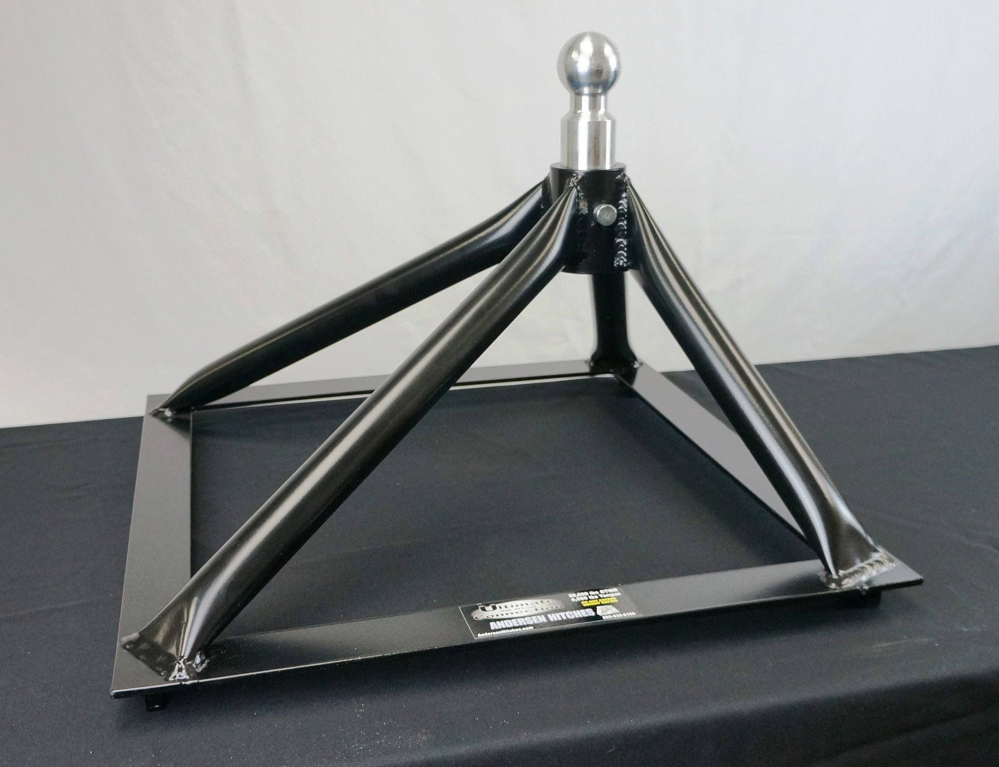 Ultimate 5th Wheel Connection Rail Mount Steel ly 40 lbs