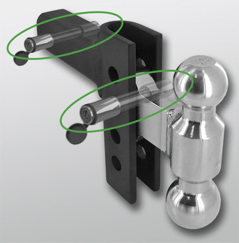 Stainless Steel EZ & EZ HD Hitch ONLY Locking Pin Set