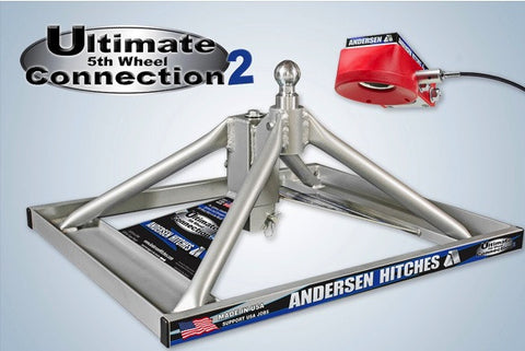 Ultimate 5th Wheel Connection 2 (Gooseneck Mount) - Aluminum, ONLY 37 lbs!