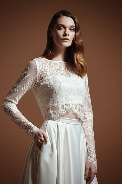 Catherine Long Sleeve Lace Top