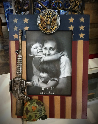 Army Picture Frame - Blessed and Beautiful Boutique