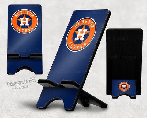 Astros Phone Stand - Blessed and Beautiful Boutique