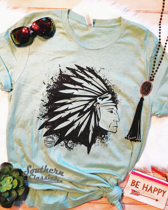 Native Indian Chief Tee