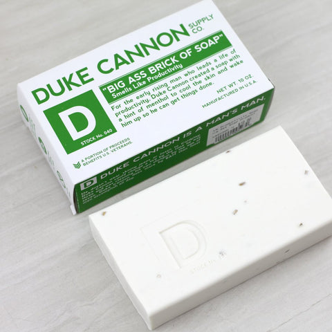 "Duke Cannon ""Big Ass Brick of Soap - Productivity - Blessed and Beautiful Boutique"