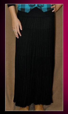 CR Long Skirt - Black - Blessed and Beautiful Boutique