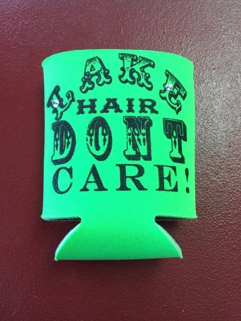 Koozie - Lake Hair Don't Care - Blessed and Beautiful Boutique