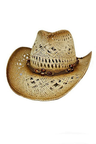 Boho Western Cowboy Hat - Blessed and Beautiful Boutique